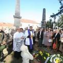 Megáldották dr. Hirschler József felújított síremlékét